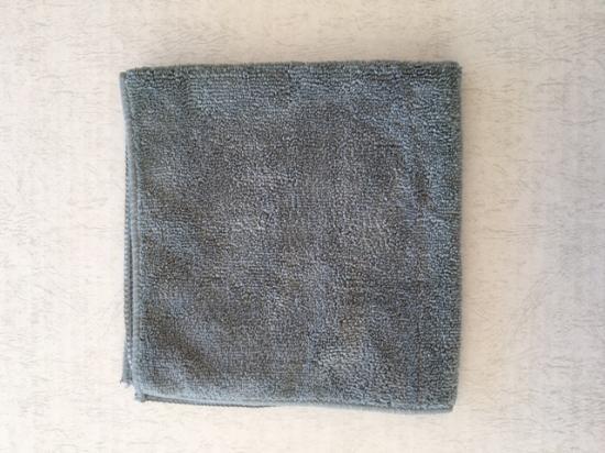 MICROFIBER TOWEL METAL GRAY<br>マイクロファイバータオル メタル グレー