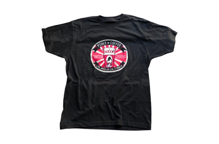 Rides&#038;Coffe Tee(L)<br>ライズアンドコーヒー Tシャツ